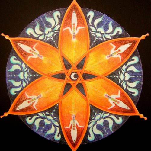 Mandala cursus chakra tekenen