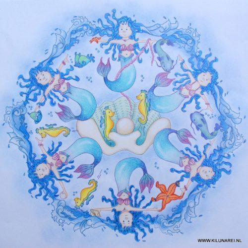 Waterelement zeemeerminnen
