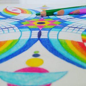 Werkboeken mandala tekenen