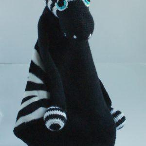 Baby knuffeldoekje met zebra Wiebke