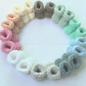 baby-booties alle kleuren
