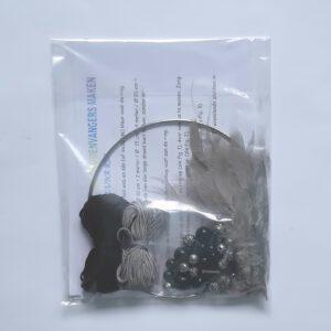 Creapakket zwart-grijze dromenvanger