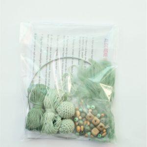 Creapakket groene dromenvanger