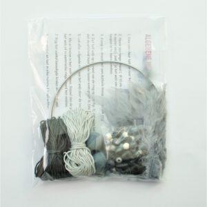 creapakket antraciet-grijze dromenvanger