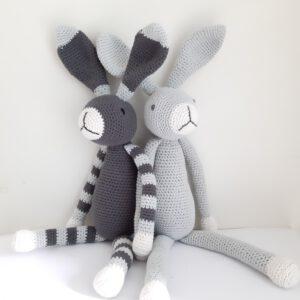 2 konijnen Snuf