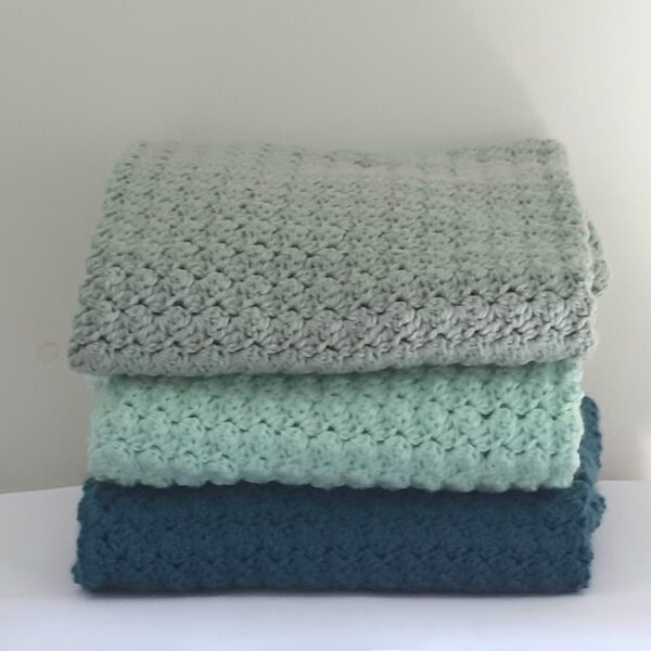 Baby-omslagdoeken (groen)