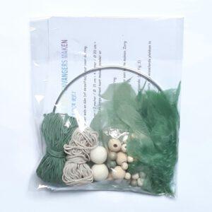 Groen-beige creapakket