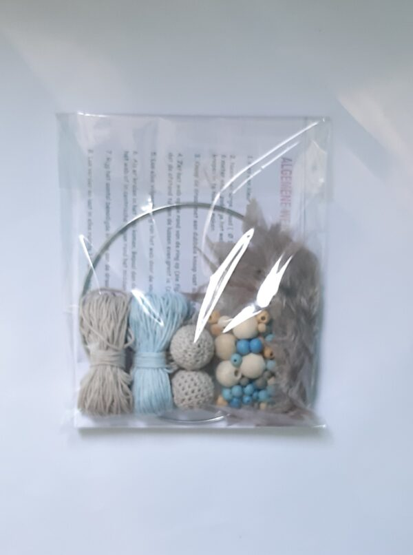 Creapakket lichtblauw-taupe dromenvanger